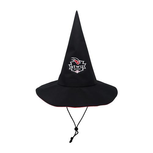 엠블럼 고깔 모자
